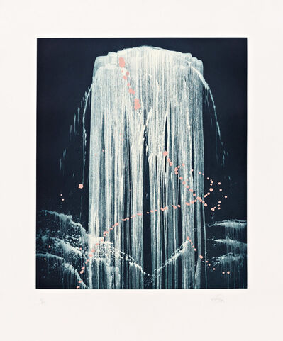 Pat Steir, 'August Waterfall', 2000