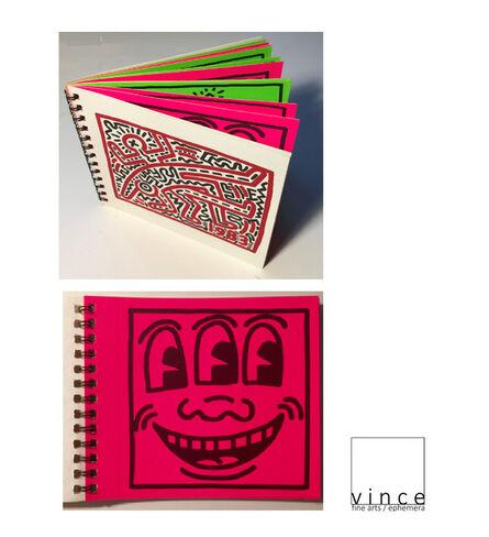 "Keith Haring, '""Keith Haring"", 12-STICKER Exhibition Catalogue, Watari Gallery Japan, EDITION of 1000', 1983"