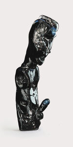 Henry Hussey, 'Untitled (Black Herma I)', 2019