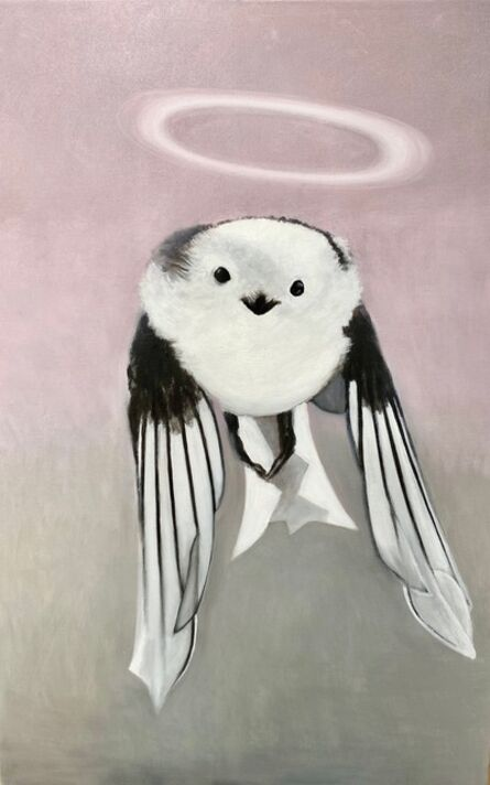 Gemma Kahng, 'Long Tailed Tit with Halo', 2021