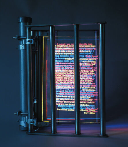 Vince Koloski, 'Imprisoned Words', 2015