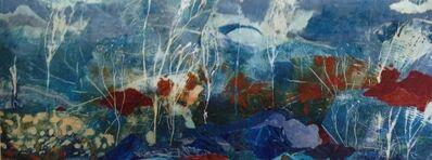 Leslie Printis, 'Untamed Blue'