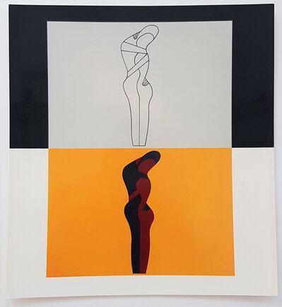 Victor Vasarely, 'Amor II', 1977