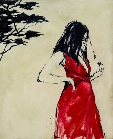 Shelly Tregoning, 'The Red Dress'