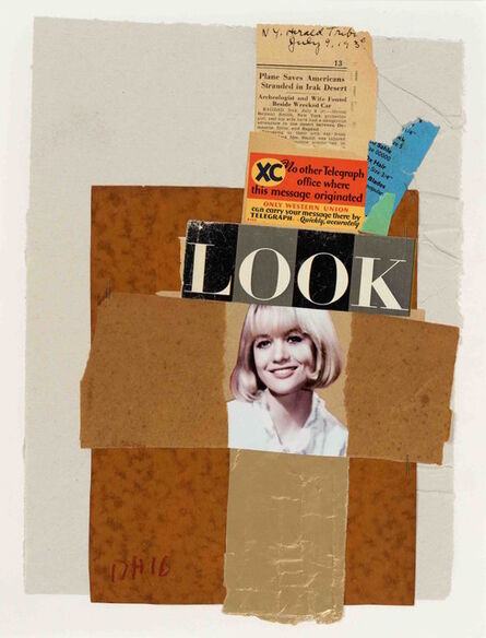 Duncan Hannah, 'Collage', 2016