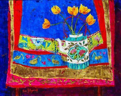 Sue Fitzgerald, 'Antique Nonya Teapot', 2018