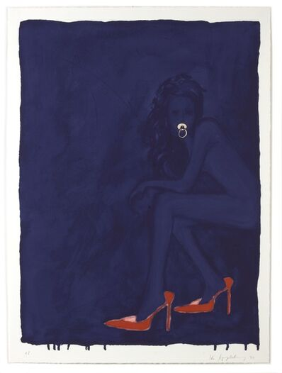 Ida Applebroog, 'Modern Olympia (Red Shoes)', 2003