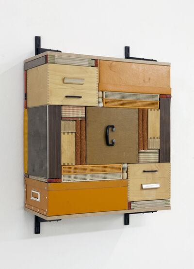 Michael Johansson, 'Flip Shelf (orange)', 2018
