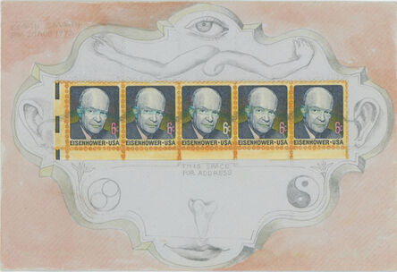Keith A. Smith, 'Eisenhower 2; 8 PM, 20 Aug 1972', 1972