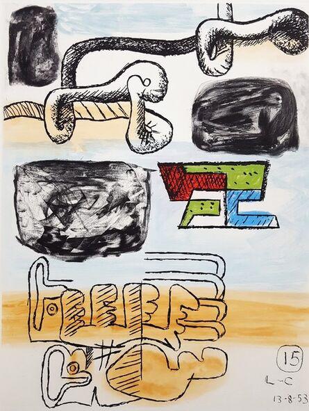 Le Corbusier, 'Unité, Planche 15 (Set of 2)', 1965