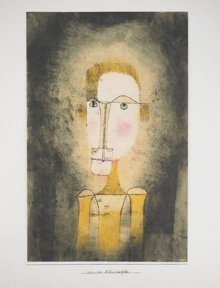 Paul Klee, 'Portrait of a Yellow Man', 1964