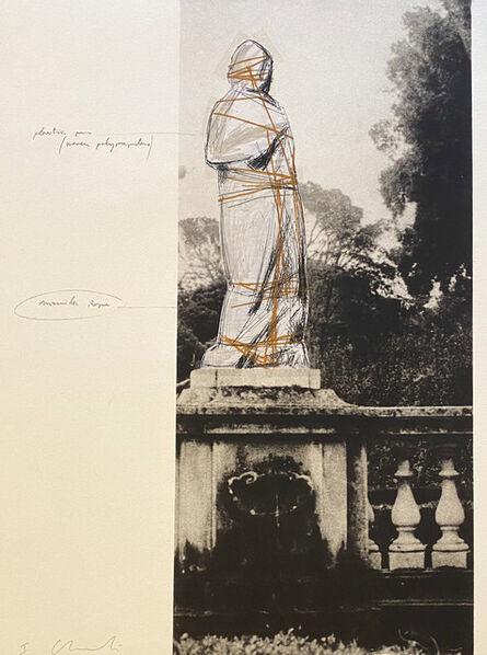Christo, 'Venus, Project for Villa Borghese, Rome', 1974