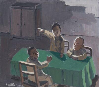 Tang Zhigang 唐志剛, 'Green Table no.2', 2020