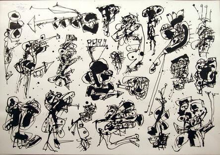 Antonio Saura, 'Las mutaciones', 1961