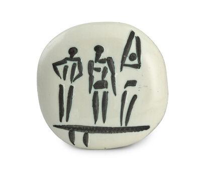 Pablo Picasso, 'Three Figures on Trampoline (Ramié 375)', 1956
