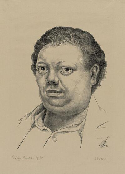 Diego Rivera, 'Self-Portrait', 1930