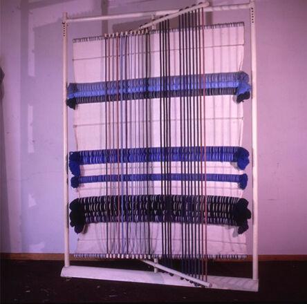 Álvaro Gómez Campuzano, 'Reflejo Azul', 1984