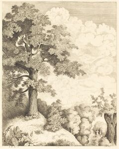 Emmanuel Phélippes-Beaulieu, 'View of Santron', 1854