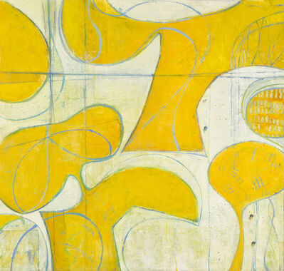 Leslie Allen, 'Yellow & Blues for Frankie', 2015