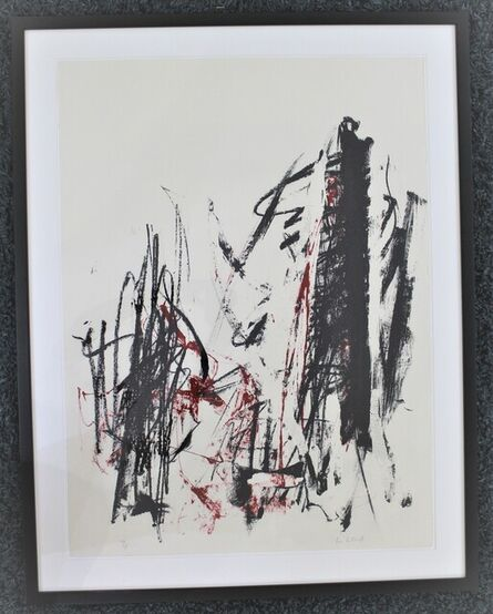 Joan Mitchell, 'Arbes (Red &  Black )', 1991-92