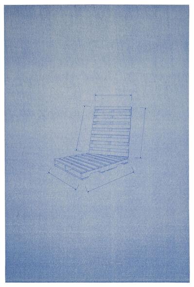 Yumi Janairo Roth, 'Blueprint Drawing 1'
