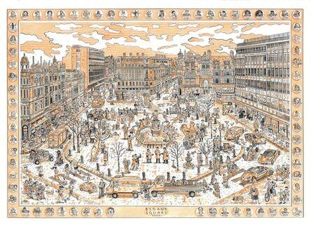 Adam Dant, 'Sloane Square, Looking South', 2020