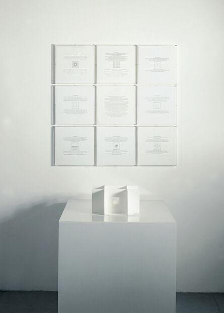Giulio Paolini, 'Le Chiavi del museo', 2004