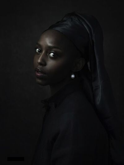 Jenny Boot, 'Jenny Boot, Black Girl with Pearl', 2016