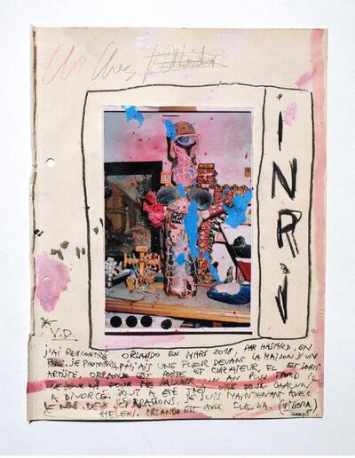 Vincent Delbrouck, 'inri', 2020
