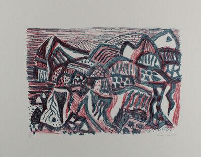 Eduard Bargheer, 'Vulkanische Landschaft', 1965