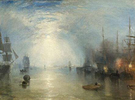 J. M. W. Turner, 'Keelmen Heaving in Coals by Moonlight', 1835