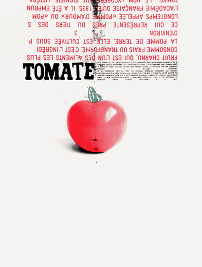 Denis Dulude, 'Tomate', 2010