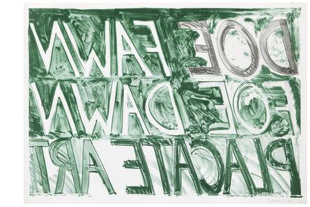 Bruce Nauman, 'Doe Fawn', 1973