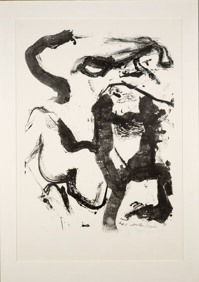 Willem de Kooning, 'Figure at Gerard Beach', 1970