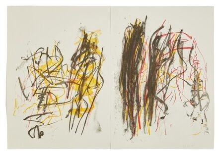 Joan Mitchell, 'Trees I (Diptych)', 1992