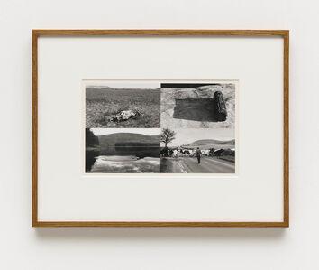 Hamish Fulton, '/ Untitled (Badlands, South Dakota; Woodstock, New York; Ivinghoe Beacon, Buckinghamshire; Woodstock, New York)', 1969-1970