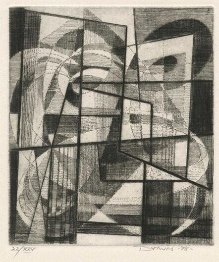Werner Drewes, 'Laocoon Contrasting Rhythms', 1978