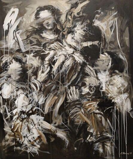 Mandy Racine, 'The Virgin & Five Saints', 2021