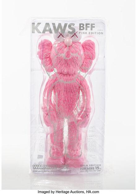 KAWS, 'BFF Companion (Pink)', 2017