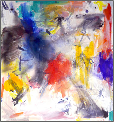 Scott Pattinson, 'Ouvert No 63 - bold, vibrant, colorful, gestural abstract acrylic on canvas', 2018