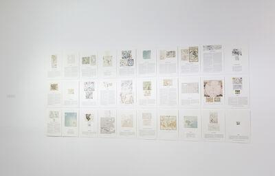 Agnieszka Kurant, 'The Archive of Phantom Islands', 2011