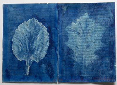 William Kentridge, 'Drawing for Sibyl (Two leaves, Xeriff)', 2019