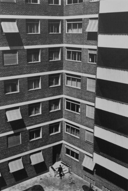German Lorca, 'Apartment blocks, São Vicente de Paulo street, 1960', year print 1970s