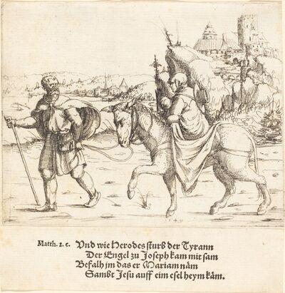Augustin Hirschvogel, 'The Holy Family Returns from Egypt', 1549