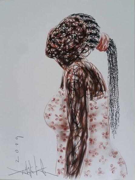 Salifou Lindou, 'Jeune femme', 2019