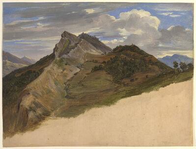 Johann Joachim Faber, 'Civitella Seen from the North', 1820/1825