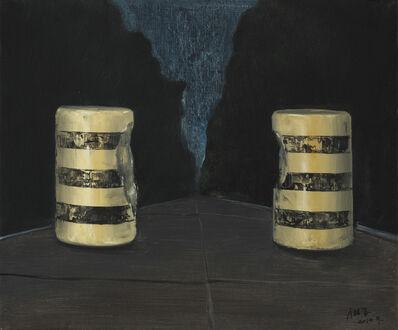 Xiao Zheluo 肖喆洛, '在一起——水泥墩', 2014
