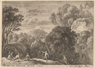 Herman van Swanevelt, 'A Dancing Satyr'
