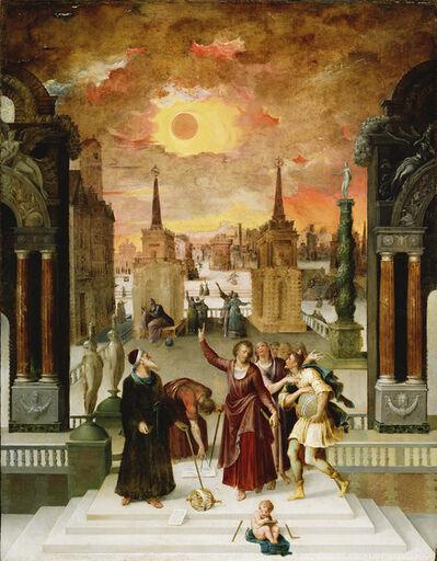 Antoine Caron, 'Dionysius the Areopagite Converting the Pagan Philosophers', 1570