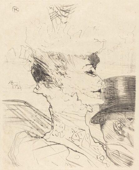 Henri de Toulouse-Lautrec, 'Yvette Guilbert?', 1896
